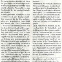 Bericht im Trierischen Volksfreund (2019)