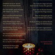 """Gedicht """"Der Advent"""" (2019)"""